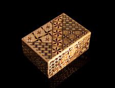 Cajas de Puzzle yosegi Japonesa Artesanal (Caja de 1)