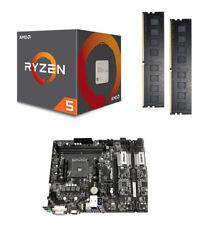 Aufrüstkit Bundle Kit AMD Ryzen 5 2600 Wraith / A320M-HDV / 16 GB DDR-4 PC2400