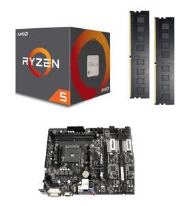Aufrüstkit Bundle Kit AMD Ryzen 5 3600 Wraith / A320M-HDV / 16 GB DDR-4 PC2666