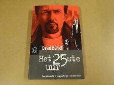 POCKET BOEK / DAVID BENIOFF - HET 25ste UUR