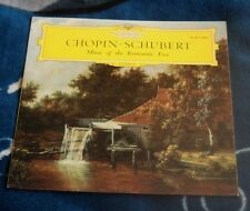 CHOPIN SCHUBERT VASARY / DEMUS UK LP DGG 104 407 TULIP LABEL , TRIO DI TRIESTE