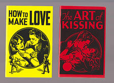The Art of Kissing and  How to Make Love by Hugh Morris Reprint