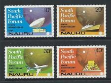 1981 NAURU South Pacific Forum Set MNH (SG 252-255)