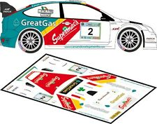 DECALS 1/43 FORD FOCUS WRC - #2 - McHALE - RALLYE GALWAY INTER 2012 - D43159