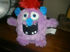 """GEMMY MONSTER MANIACS """"MITCH"""". ANIMATED PLUSH TOY SINGS the movie""""GREASE""""song"""