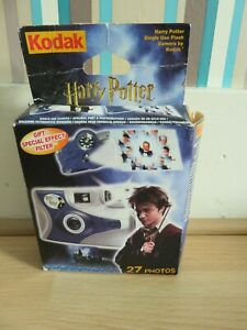 RARE! HARRY POTTER DISPOSABLE SINGLE USE CAMERA 2005 + SPECIAL FILTER EFFECT!