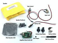 "Cigar Box Guitar Amplifier Kit - 9 Volt Battery Powered Amp with a 3"" Speaker"