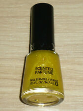 REVLON SCENTED NAIL POLISH IN PINEAPPLE FIZZ YELLOW GLASS FLECK FULL SZ LACQUER