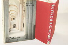 ZODIAQUE BOURGOGNE ROMANE 1958 ARCHITECTURE RELIGIEUSE ILLUSTRE