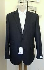 Charcoal Grey Flannel Blazer/Suit Jacket By Chester Barrie BNWT -  38 Regular