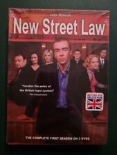 New Street Law: First Season 1, 3 DVDs, FREE SHIPPING, SEALED, NEW, British