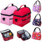 Waterproof Insulated Thermal Shoulder Picnic Cooler Lunch Bag Storage Box Tote
