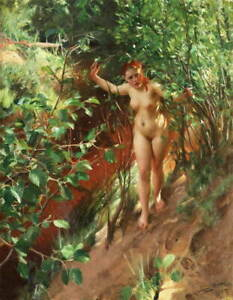 Anders Zorn Painting 9 Poster Reproduction Paintings Giclee Canvas Print