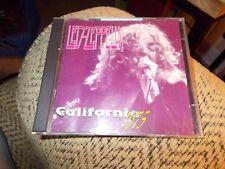 LED ZEPPELIN 2 DISC CD SET CALIFORNIA 1975
