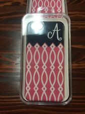 Monogramed (Letter A) iphone case fits iphones 6/6s iPhone hard case cell phone