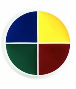 Ben Nye Creme 4 color special fx makeup FX Color Wheels