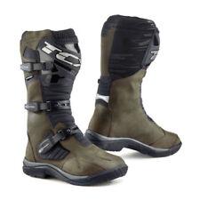 Stivali, anfibi e scarponcini da uomo marrone con velcro 100% pelle