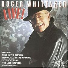 ROGER WHITTAKER - LIVE! - *NEW CD* *FACTORY SEALED*