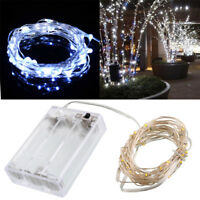 LED String Fairy Lights Garden Wedding Party Christmas Home Decoration LD