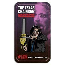 Texas Chainsaw Massacre Pretty Woman Enamel Pin Horror Halloween