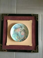 Vintage Colette & Child- Edna Hibel - Edition 1973 Framed
