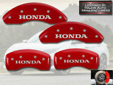 "2006-2015 ""Honda"" Civic EX Si 1.8L Front Rear Red MGP Brake Disc Caliper Covers"