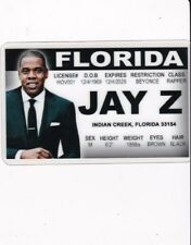 RAPPER of FLORIDA FL Drivers License card