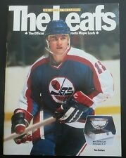1981 Toronto Maple Leafs Programme - 50 Years at Maple Leaf Gardens