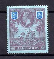 Barbados 1912 2/- purple & blue mint MH SG179 WS17817