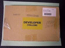 New GENUINE XEROX CopyCentre C40 DocuColor 1632 3535 yellow Developer 604K07490