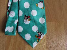 Disney MICKEY Mouse on White Ball or Balloon Tie