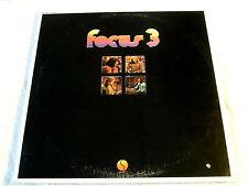 FOCUS 3 ~TWO LP SET~RECORD VG++~SIRE 3901 ~ ROCK  LP