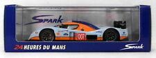 Voitures des 24 Heures du Mans miniatures bleus en résine