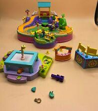 Poly Pocket Set / Action Park Bluebird und Trampolin / Turnen Mattel