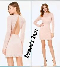NWT bebe Raquel Lace Open Back Dress SIZE S Elegant,classy and sexy. $171