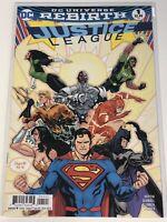 JUSTICE LEAGUE REBIRTH #1 VARIANT DC COMICS SUPERMAN BATMAN WONDER WOMAN FLASH