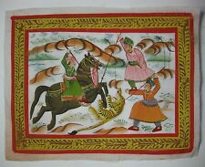 Original Painting.Handmade,Organic Madhubani Painting From India.USA (Item#14)