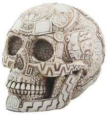 Aztec Skull Statue Sculpture Figure - WE SHIP WORLDWIDE