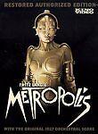Metropolis Kino Video with Original Orchestral Score DVD
