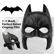 Professional Batman Mask The Dark Knight Rises Mens Halloween Cosplay Prop Resin