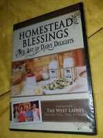 Homestead Blessings: The Art of Dairy Delights [DVD] New and Sealed