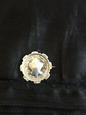 Lovely Solid Silver 1923 Badge William Tiptaft