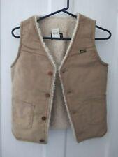 Vintage 70's Maverick Corduroy Sherpa Lined Men's Vest Size Large