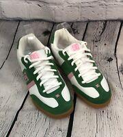 DC Shoe Company Green & White Sneakers Size 10