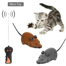 Funny Wireless Remote Control RC Rat Mouse Toy for Cat Dog Pet Novelty Gift