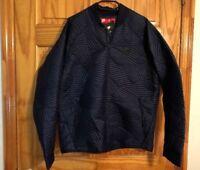 d9e84597 Nike Sportswear Men's Syn Fill Bomber Quilt Jacket Navy Medium M [864946 ...
