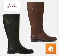 Joules Canterbury Ladies Knee High Leather Boots - AW19