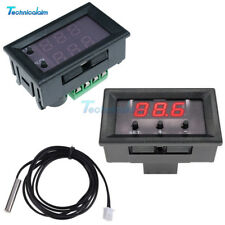 50-110°C W1209WK W1209 12V Digital Thermostat Temperature Controller Sensor+Case