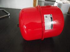 25 L Ausdehnungsgefäß Druckausdehnungsgefäß für Heizung  farbe rot Neu