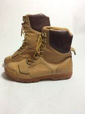 Creative Recreation CR Camel Tan Brown Leather Boots Men's Size 11 1/2 11.5